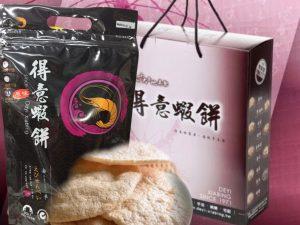 非油炸蝦爆餅禮盒(大包4入)